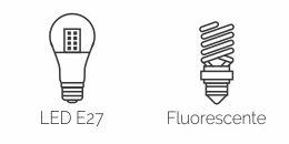 Fluorescente ou LED   Classic Lar