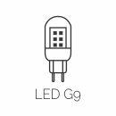 Lâmpada LED G9 | Classic Lar